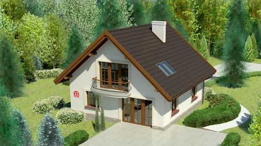projekt Dom przy Cyprysowej 12