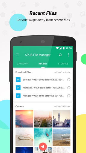 APUS File Manager (Explorer) screenshot 3