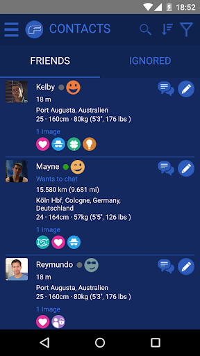 FUNKYBOYS - Gay Dating & Chat Screenshot