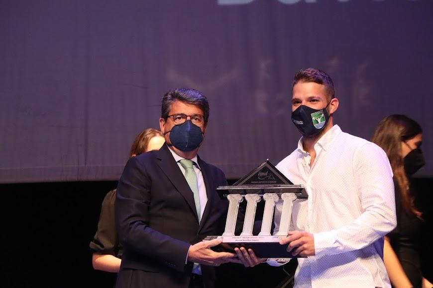 El Premio Mejor Deportista fue para David Sánchez.
