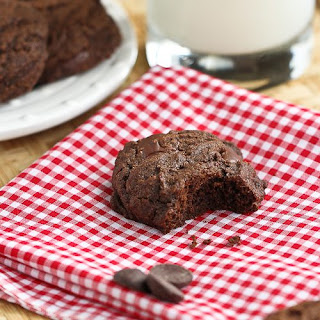 Whole Wheat Double Chocolate Chip Cinnamon Cookie.