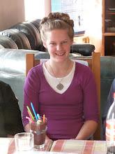 Photo: Rebecca celebrates her 17th birthday in Israel.