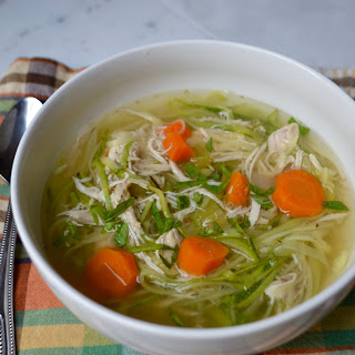 Slow Cooker Chicken Zoodle Soup