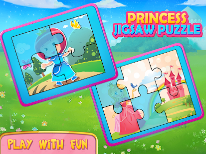 Pink Princess Puzzles Girls Games Screenshot