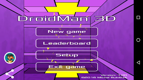 DroidMan 3D- screenshot thumbnail