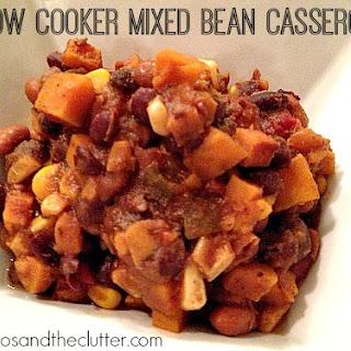 Slow Cooker Mixed Bean Casserole.