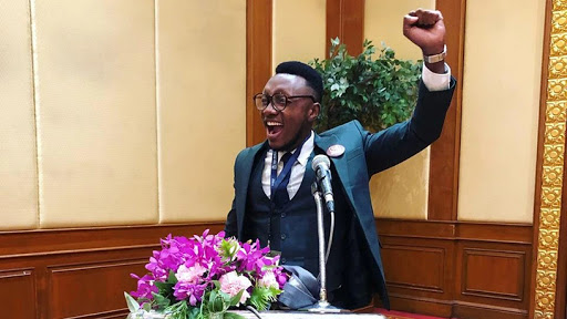 Gift Lubele scoops the BRICS Young Innovator Award.