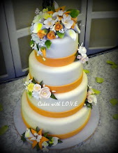 Photo: Coral Wedding by Cakes with L.O.V.E. (5/24/2012) View cake details here: http://cakesdecor.com/cakes/16313