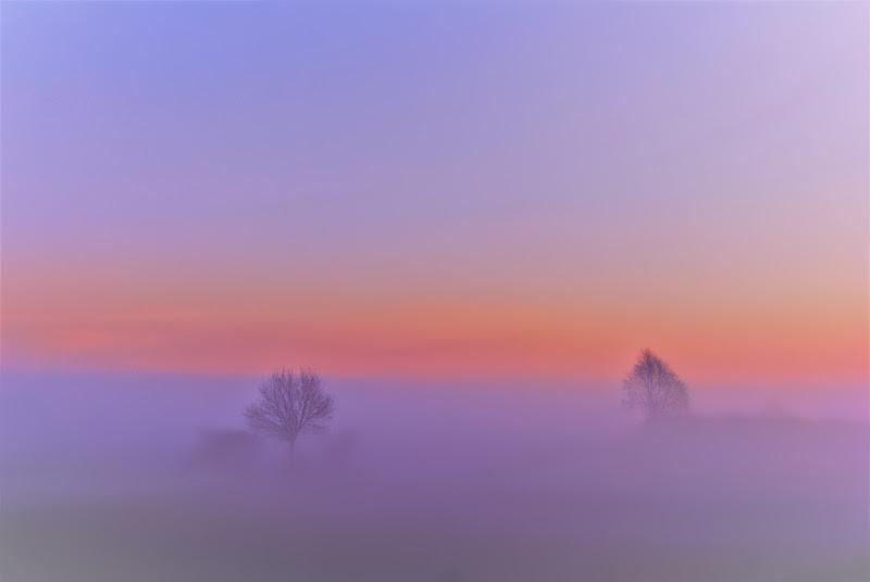 Alba nebbiosa di Inazur