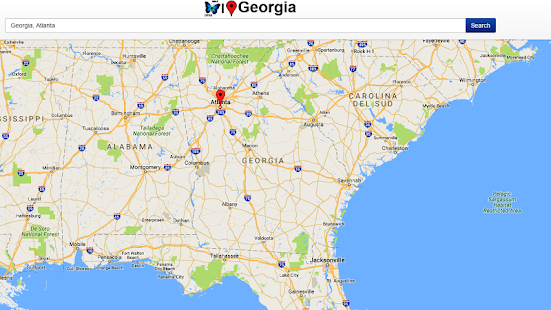 Georgia Map Android Apps On Google Play - Georgia map world