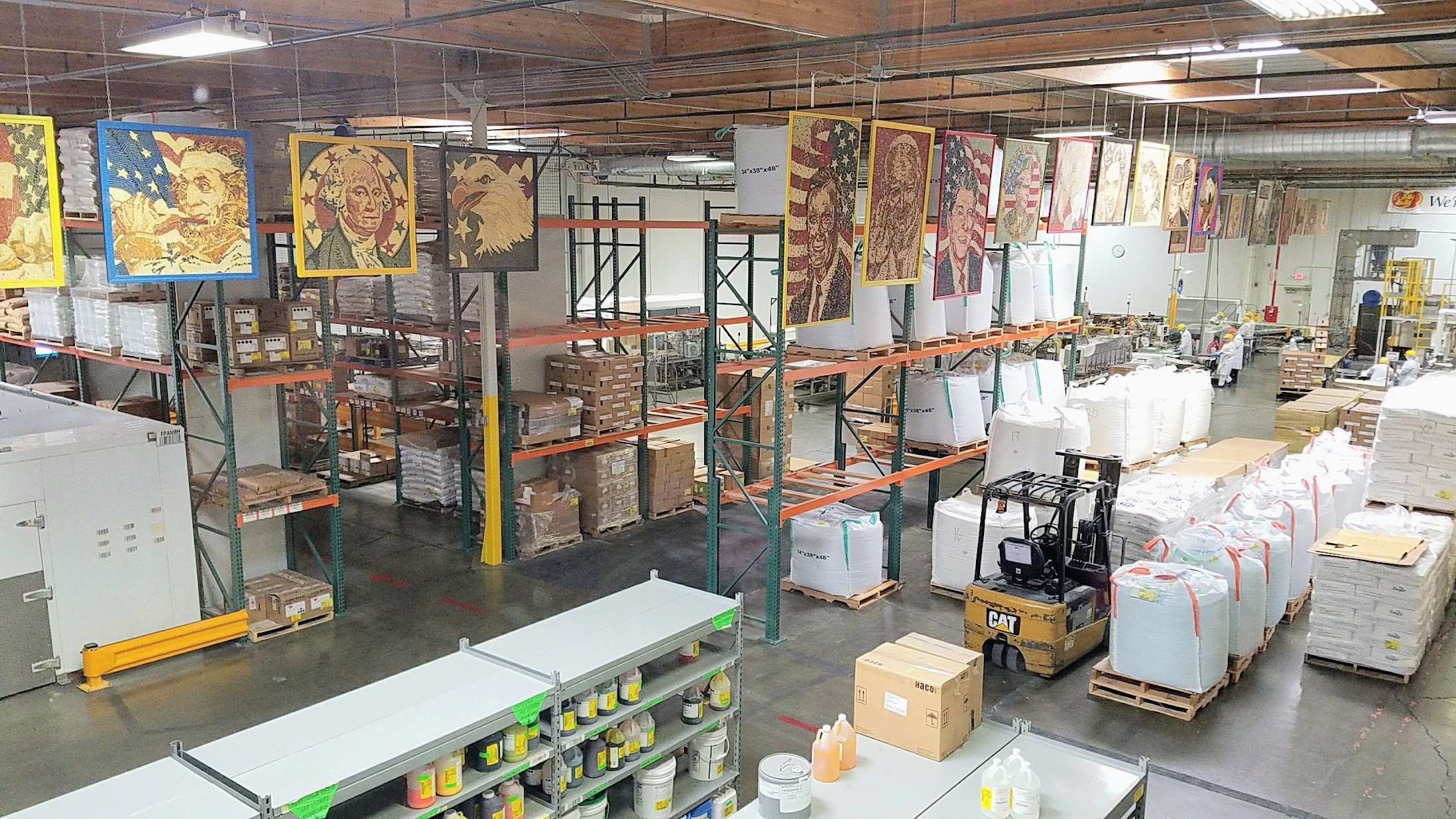 Inside the Jelly Belly Factory Tour in Fairfield, California