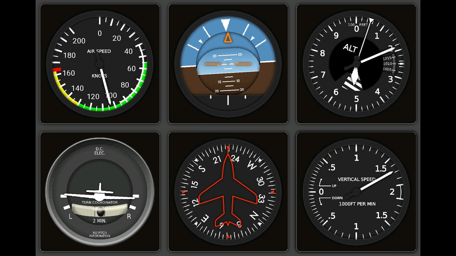 3d Wallpaper Gyro X Plane Steam Gauges Pro Android Apps On Google Play