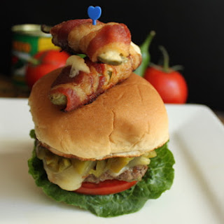 Jalapeno POP Burger.
