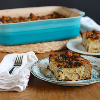 Swiss Chard And Gruyere Strata