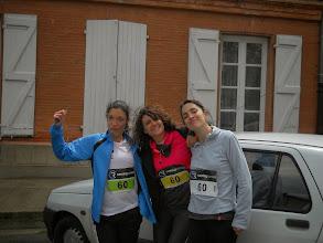 Photo: Les filles avant la course