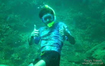 Photo: Snorkelling at Pulau Derawan, Borneo, Indonesia