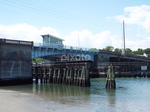 Wrightsville Beach Bridge By Marc Watkins Buildings Architecture Bridges Suspended Structures Travel