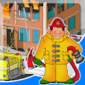 fire truck games free for kids icon