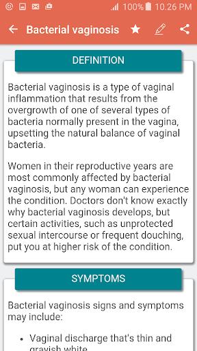 Disorder & Diseases Dictionary 7.6 screenshots 3