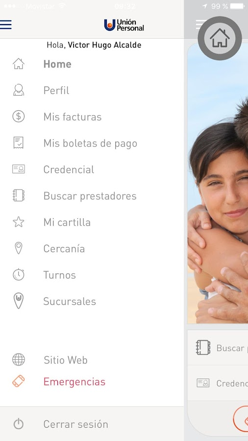 Unión Personal- screenshot