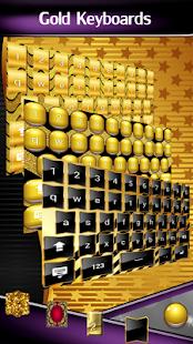 Gold Keyboards - náhled