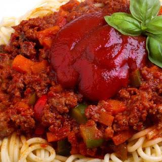 Slow Cooker Venison Spaghetti Sauce.