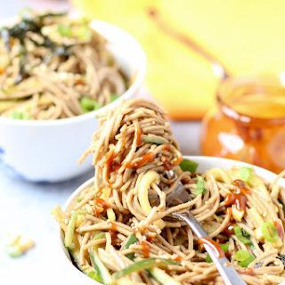 Super Simple Sesame Soba Noodles.