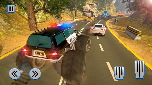 Monster Truck Police Chase Driving Simulator 1.0.4 screenshots 2