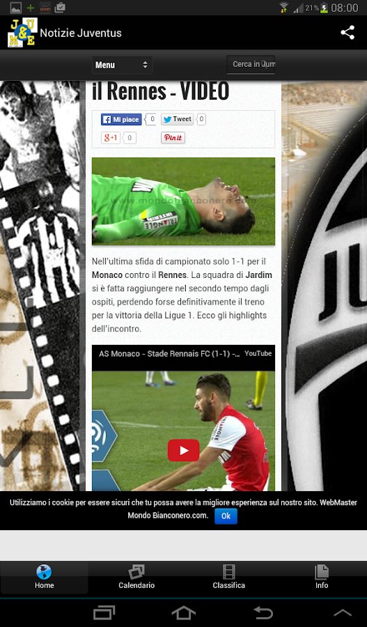 Mondo Bianconero- screenshot