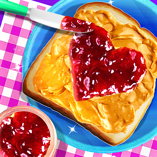 Peanut Butter And Jelly Sandwich - Cooking Game
