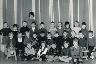 Photo: KLEUTERKLAS  IN VUREN  APRIL 1966