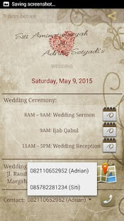 Siti & Adrian's Wedding screenshot