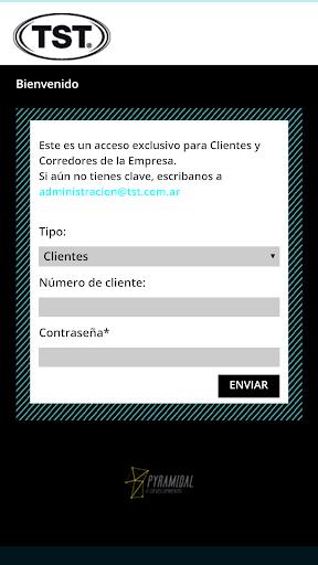 tst app screenshot 1