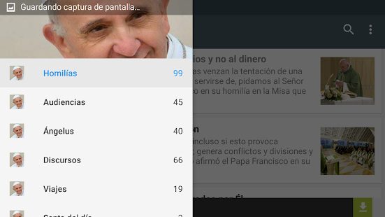 Misa del Papa Francisco- screenshot thumbnail