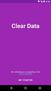 Clear Data - náhled