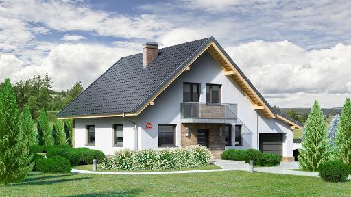 projekt Dom przy Oliwkowej 5 N