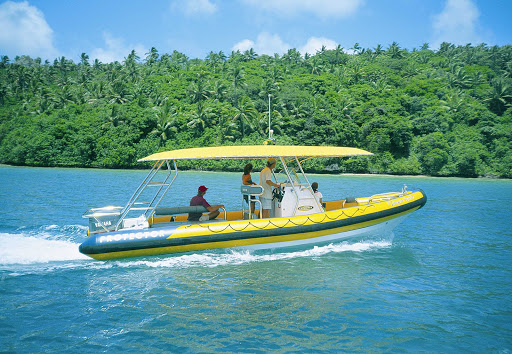 Tonga-boat.jpg - Book an excursion in Tonga that lets you explore small bays and beautiful beaches.
