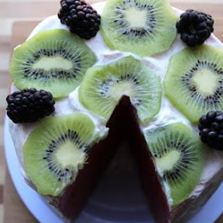 No-Bake Watermelon Cake