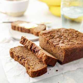 Vegan Almond Flour Banana Bread.