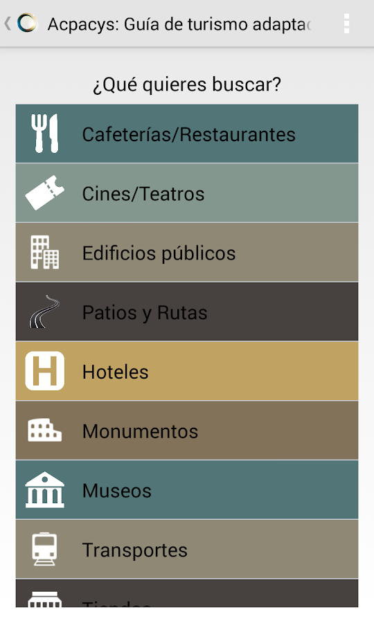 Turismo Accesible- screenshot