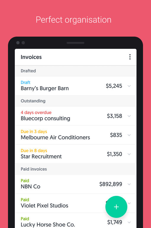 Rounded Accounting- screenshot