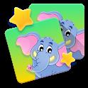 Kids Animal Games - Memo 🐼 icon