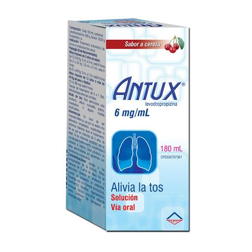 Levodropropizina Antux 0,6% Solución Oral X 180 Ml Leti 0,6% Solucion Oral x 180 mL