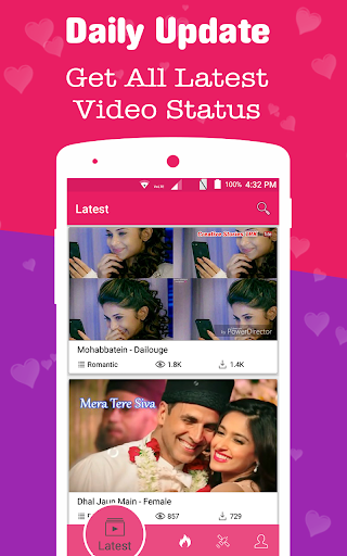 All Video Status - Video Song Status & Text Status 2.2 screenshots 3