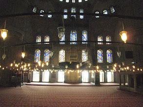 Photo: Blue Mosque interior