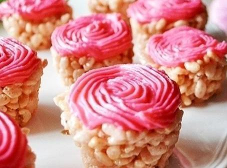 Rice Krispie Cupcake Treats Recipe