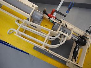 Photo: hair dryer plunger mechanism on test ramp