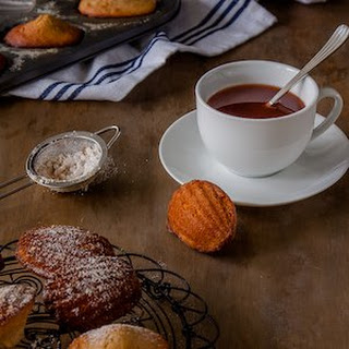 Gingerbread Madeleines