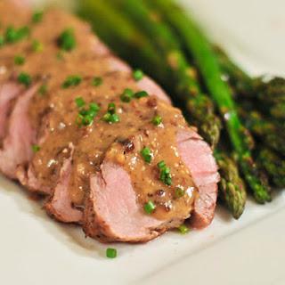 Pork With Whole Grain Mustard Sauce Recipes.