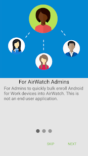 AirWatch Relay - náhled